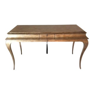 "Caracole Furniture ""Oh Me Oh My"" Console Table For Sale"