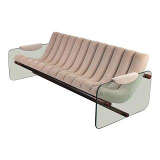 Fabio Lenci Attributed Italian Space Age Sofa For Sale