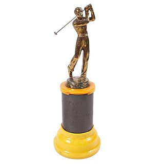 1950 Golf Trophy For Sale