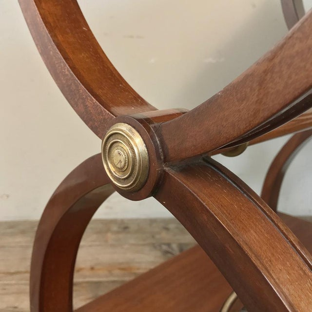 Pair Mid-Century French Charles X Side Tables For Sale - Image 9 of 13