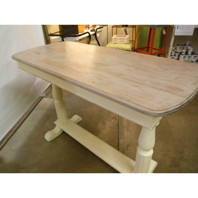 Vintage French Writing Style Desk For Sale In Minneapolis - Image 6 of 7