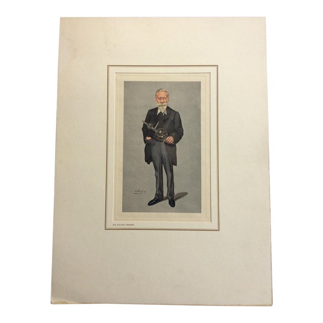 Vanity Fair Prints of Scientists for Petrolagar Laboratories - Set of 7 For Sale
