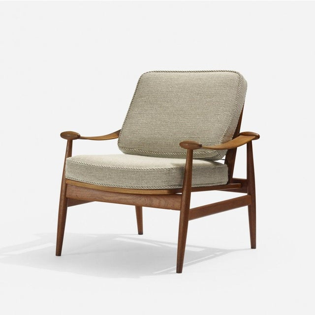 France & Son Finn Juhl Lounge Chair for France and Son For Sale - Image 4 of 4