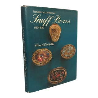 "1966 ""European & American Snuff Boxes (1730-1830)"" First Edition Art/Design Book For Sale"