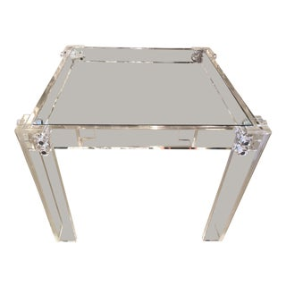 Vintage Lucite Peg Dining Table or Game