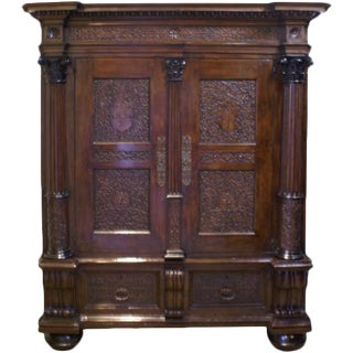 18th Century Baroque Cabinet For Sale