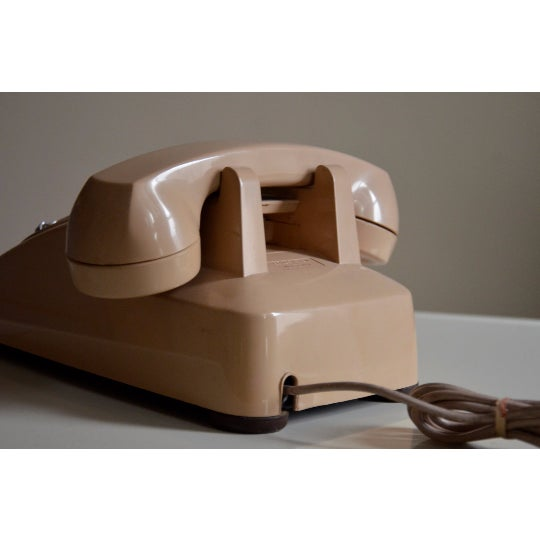 Vintage Cream Touch Tone Telephone - Image 5 of 6