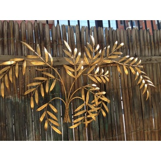 1960s Gold Leaf Branches Wall Sculpture Hanging Preview