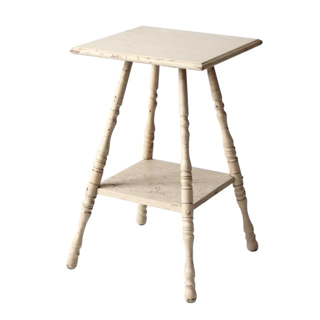 Antique Splayed Leg End Table - Image 1 of 7