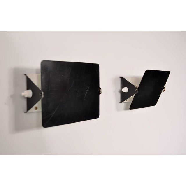 Pair of Charlotte Perriand CP1 Wall Sconces for Steph Simon, France, circa 1960 - Image 6 of 7