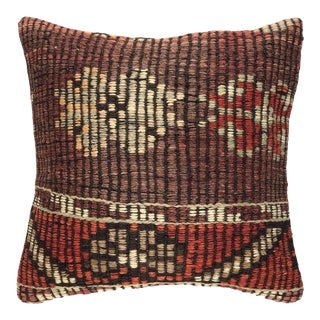 """Muted Mulberry Vintage Kilim Pillow 