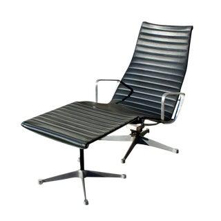 Eames Aluminum Group Lounge Chair & Ottoman