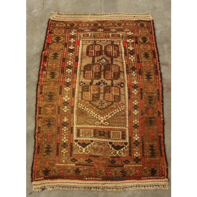Vintage Baluchi Persian Rug - 2′5″ × 3′9″ - Image 2 of 6