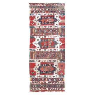 Karapinar Kilim Rug - 5′4″ × 13′ For Sale
