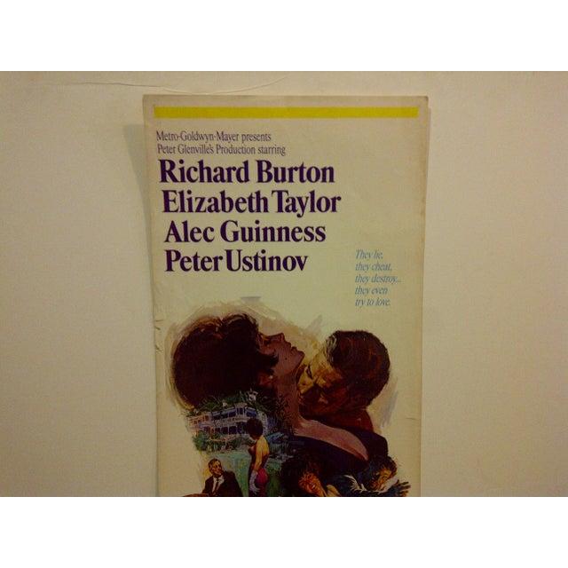 """Vintage Movie Poster """"The Comedians"""" Elizabeth Taylor 1967 - Image 3 of 6"""