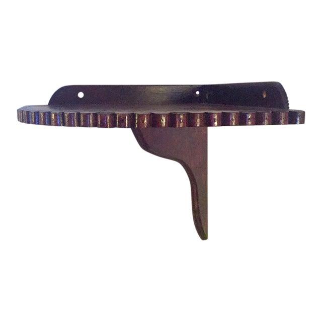 Scalloped-Edge Corner Shelf For Sale