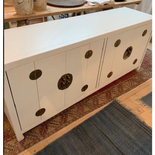 Asian Mid-Century Modern 1960s Henredon Ming Console For Sale - Image 3 of 13