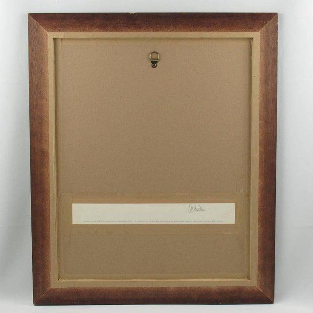 "Blue Patrick Fionnet After Pico ""Folies Bergere"" Facade Art Deco Lithograph For Sale - Image 8 of 11"