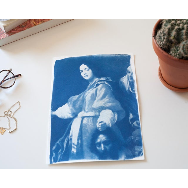 Painting of Judith Cyanotype Print - Image 2 of 5