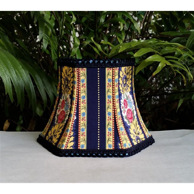 Vera Bradley Fabric Lampshade Hex Bell For Sale In West Palm - Image 6 of 11
