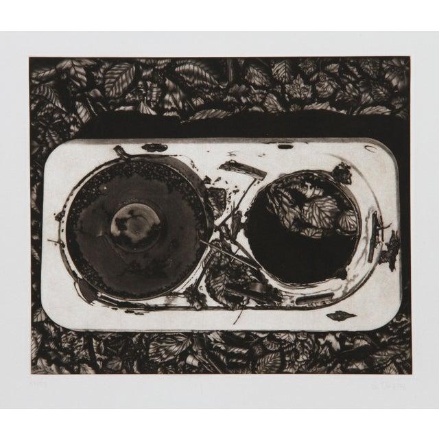 Modern Gerde Ebert, Record, Mezzotint For Sale - Image 3 of 3
