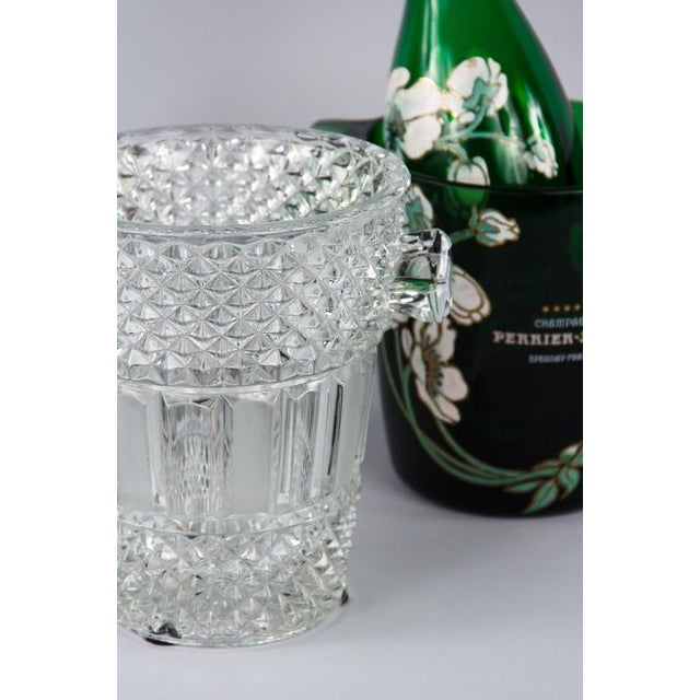 French Cut Crystal Champagne Bucket, 20th Century - Image 6 of 11