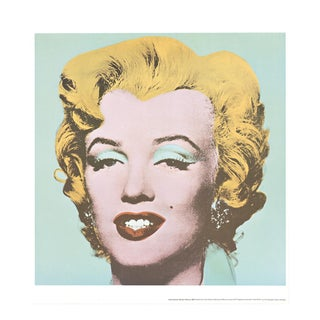 Andy Warhol, Marilyn, Offset Lithograph, 1971 For Sale