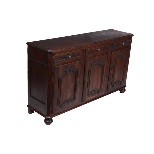 19th C. Louis XV-Style Buffet For Sale - Image 10 of 12