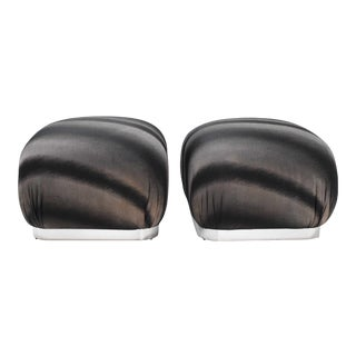 Weiman Souffle Poufs - a Pair For Sale