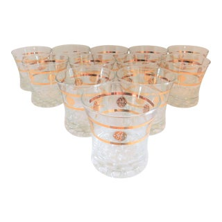 GE(General Electric) 1960's Vintage Cocktail Glasses by Libbey - Set of Twelve For Sale