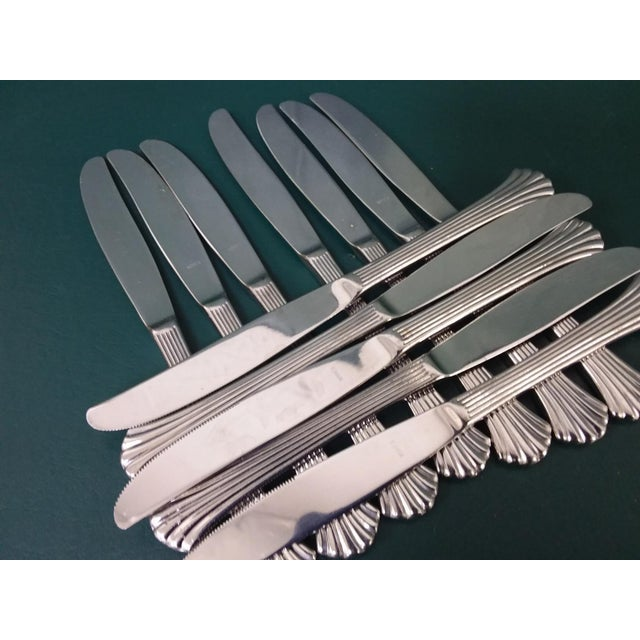 Vintage Wallace 'Tiara' Flatware, Service for 12 For Sale - Image 9 of 13