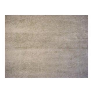 Zoffany Sanderson Boho Velvet Pebble Gray Brown Upholstery Fabric- 3 3/4 Yards For Sale