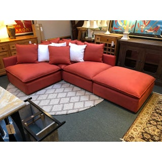 Custom Design Oswald 4pc Modular Sectional Preview