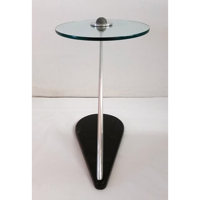 Vladimir Kagan Style Sculptural Side Table - Image 5 of 7