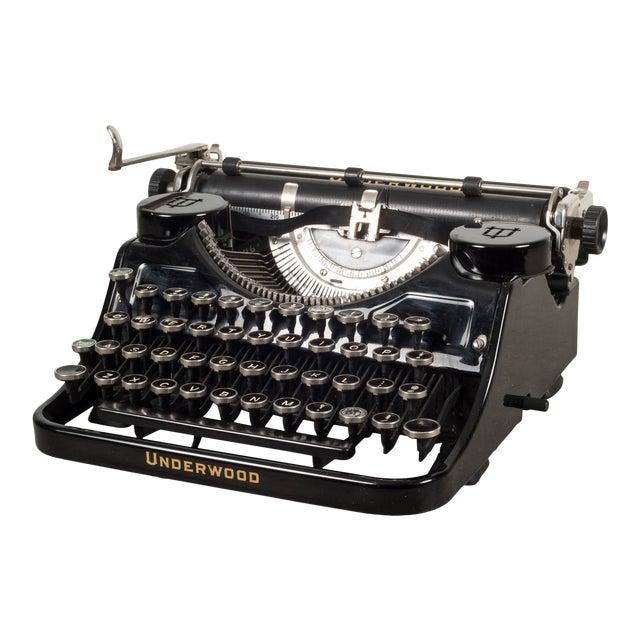 Antique Underwood Universal Portable Four Bank Typewriter C.1935 For Sale
