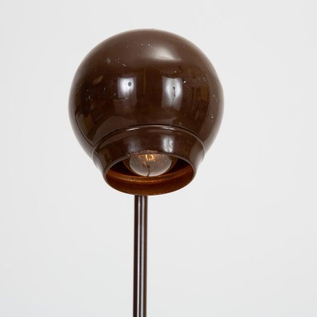 Metal Single Eyeball Floor Lamp by Robert Sonneman for George Kovacs For Sale - Image 7 of 10