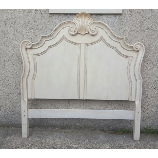 Victorian Ivory Queen Bed Frame - Image 5 of 7
