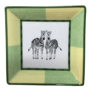 Hermes Mini Zebra Tray For Sale