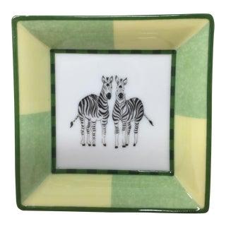 Hermes Mini Zebra Tray For Sale