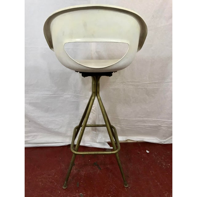 1960s Vintage Mid Century Barstools - Set of 4 For Sale - Image 5 of 10