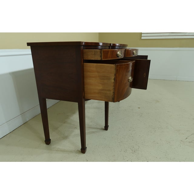 1990s Kindel National Trust Collection Federal Mahogany Sideboard For Sale - Image 5 of 13