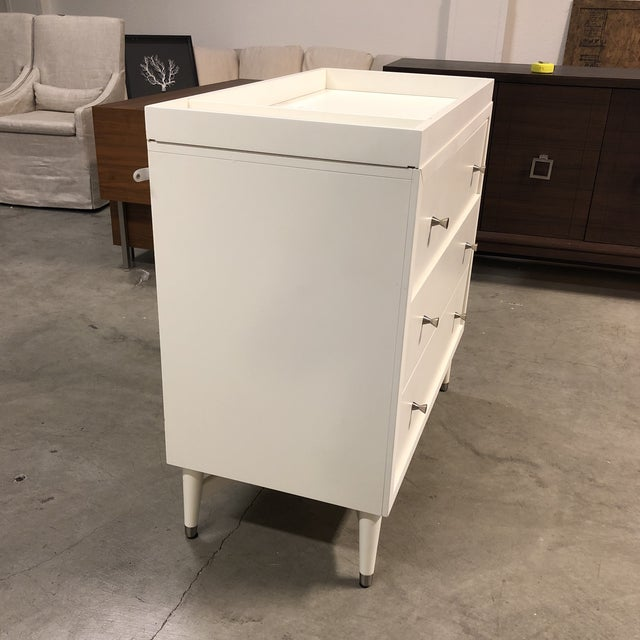 Dwell Studio Mid Century Changing Dresser For Sale - Image 4 of 10