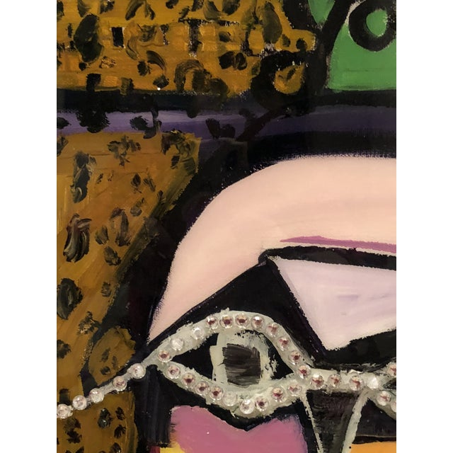 """""""Yo Tambien a La Bling"""" Painting by J J Justice For Sale In Santa Fe - Image 6 of 11"""