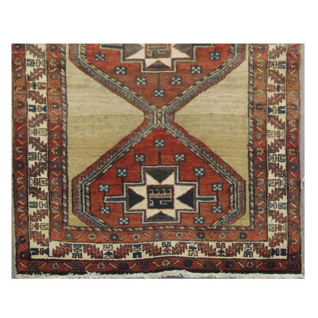 Islamic Vintage Persian Sarab Rug - 3′10″ × 10′8″ For Sale - Image 3 of 3