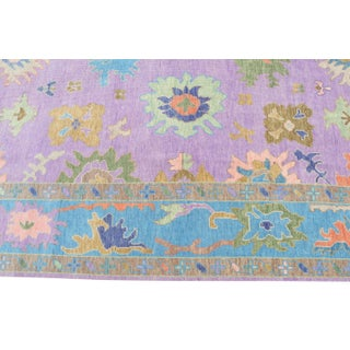 """Colorful Oushak Style Wool Handknotted Rug- 8'9""""x12' Preview"""