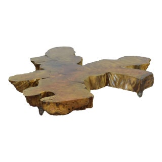 Live Edge Tree Root Coffee Table