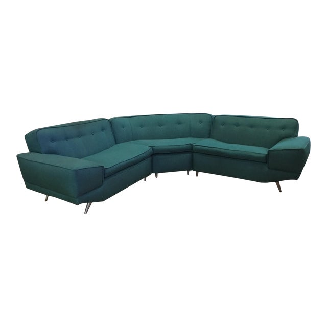 Mid Century Sectional Sofa For Sale