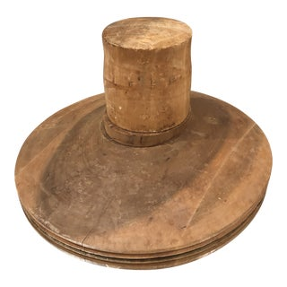 20th Century Wooden Hat Forms For Sale