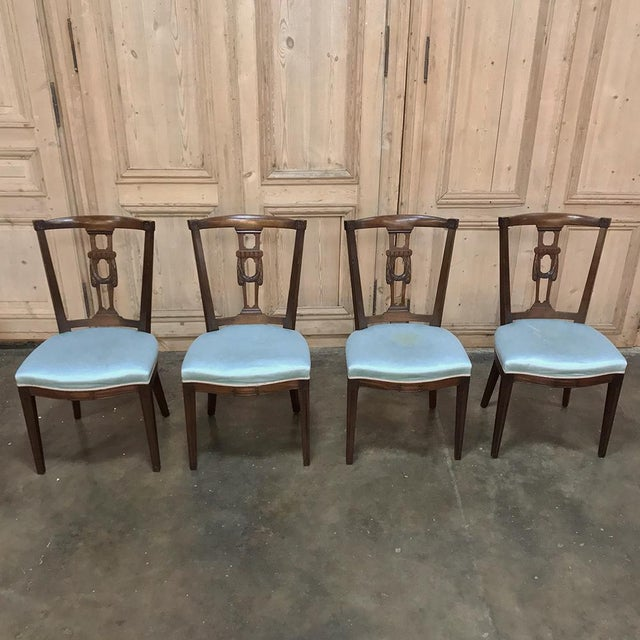 Antique Hepplewhite Dining Chairs - Set of 8 For Sale In Dallas - Image 6 of 12