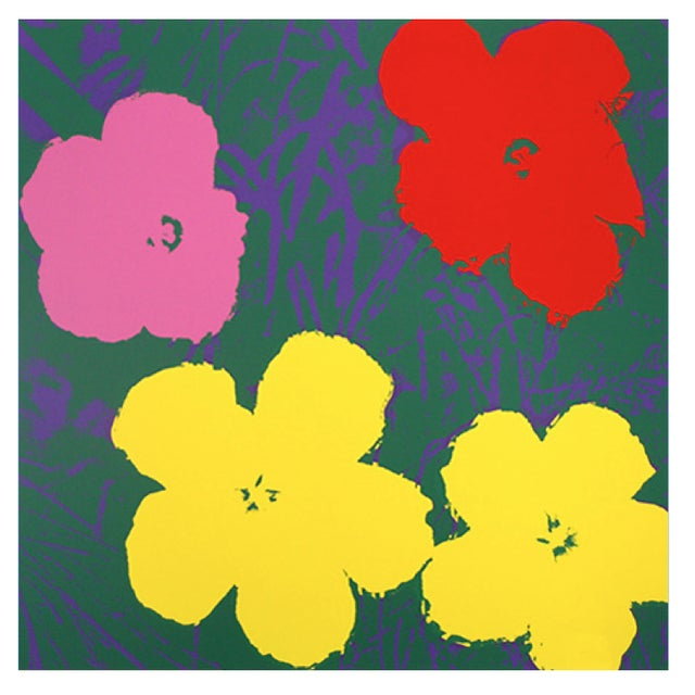 Andy Warhol Sunday B. Morning Flowers Prints - S/4 - Image 5 of 5